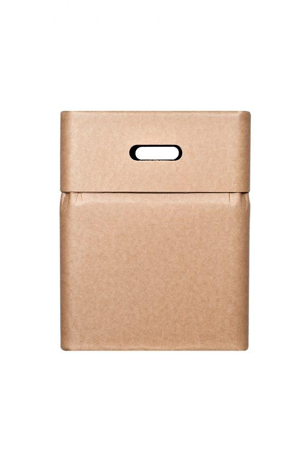 Sustainable multifunctional cardboard box-chair